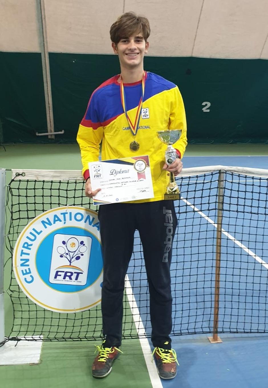 Alex Coman tenis campion